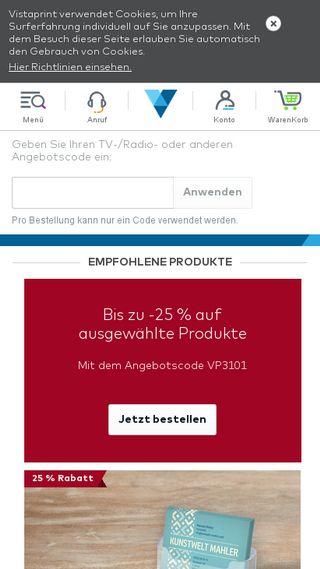 Vistaprint Gutschein Jetzt Bis Zu 99 Off Vistaprint